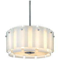 Sonneman Velo 4 Light Pendant in Polished Chrome 3185.01