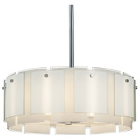Velo 4 Light 29 inch Polished Chrome Pendant Ceiling Light