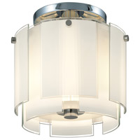 Velo 2 Light 13 inch Polished Chrome Pendant Ceiling Light