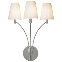 Sonneman Fontana 3 Light Sconce in Polished Nickel 3193.35