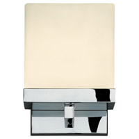 Cubist 1 Light 6 inch Polished Chrome Bath Light Wall Light in 5.5 in.