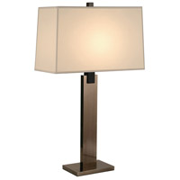 Sonneman Monolith 1 Light Table Lamp in Black Nickel 3305.50