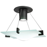 Sonneman Handkerchief 1 Light Pendant in Satin Black 3403.25