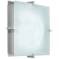 Handkerchief 2 Light 11 inch Satin Silver Sconce Wall Light