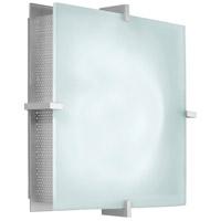 Sonneman 3405.04 Handkerchief 2 Light 11 inch Satin Silver Sconce Wall Light