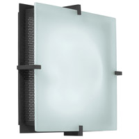 Sonneman Handkerchief 2 Light Sconce in Satin Black 3405.25