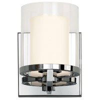 Sonneman Votivo 1 Light Sconce in Polished Chrome 3410.01