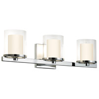 Sonneman Votivo 3 Light Sconce in Polished Chrome 3413.01