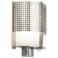 Sonneman Pool 1 Light Sconce in Satin Nickel 3430.13M