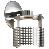 Sonneman Pool 1 Light Sconce in Satin Nickel 3431.13M
