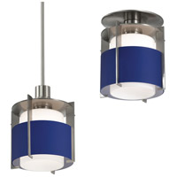 Sonneman Pool 1 Light Pendant in Satin Nickel 3432.13B