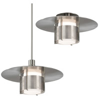 Sonneman 3433.13M Pool 1 Light Satin Nickel Pendant Ceiling Light