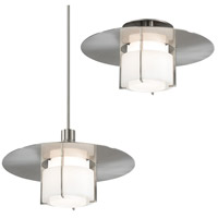 Sonneman Pool 1 Light Pendant in Satin Nickel 3433.13W