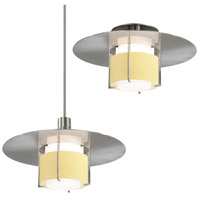 Sonneman Pool 1 Light Pendant in Satin Nickel 3433.13Y