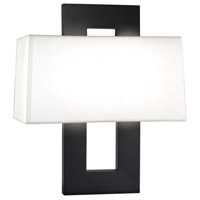 Sonneman Otto 2 Light Sconce in Blackened Steel 3518.28