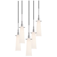 Sonneman Candela 5 Light Pendant in Polished Chrome 3553.01-5