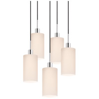 Sonneman Signature 5 Light Pendant in Polished Chrome 3560.01K-5