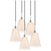 Sonneman Signature 5 Light Pendant in Polished Chrome 3562.01K-5