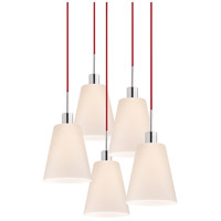 Sonneman Signature 5 Light Pendant in Polished Chrome 3562.01R-5