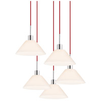 Sonneman Signature 5 Light Pendant in Polished Chrome 3563.01R-5