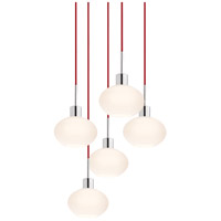 Sonneman Signature 5 Light Pendant in Polished Chrome 3565.01R-5