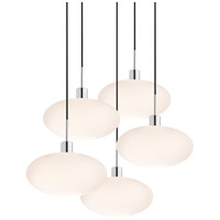 Sonneman Signature 5 Light Pendant in Polished Chrome 3567.01K-5