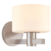 Sonneman Milano 1 Light Sconce in Satin Nickel 3611.13