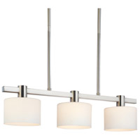 Sonneman Milano 3 Light Pendant in Polished Nickel 3613.35