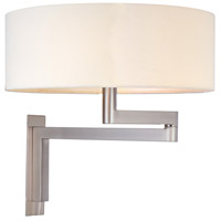 Sonneman 3620.13 Osso 2 Light 14 inch Satin Nickel Sconce Wall Light