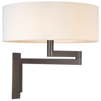 Sonneman Osso 2 Light Sconce in Black Brass 3620.51