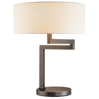 Sonneman Osso 2 Light Table Lamp in Black Brass 3625.51