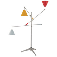 Sonneman Treluci 3 Light Floor Lamp in Polished Chrome 3636.01M photo thumbnail