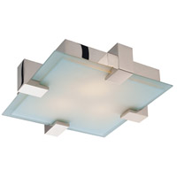 Dakota 2 Light Polished Chrome Pendant Ceiling Light