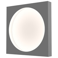 Sonneman 3702.18 Vuoto LED 15 inch Dove Gray ADA Sconce Wall Light