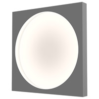 Sonneman 3703.18 Vuoto LED 20 inch Dove Gray ADA Sconce Wall Light