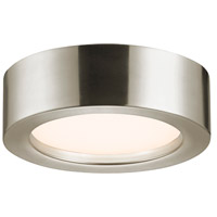 Puck LED 8 inch Satin Nickel Surface Mount Ceiling Light