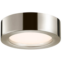 Puck LED 8 inch Polished Nickel Surface Mount Ceiling Light