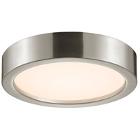 Puck LED 12 inch Satin Nickel Surface Mount Ceiling Light