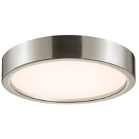 Puck LED 15 inch Satin Nickel Surface Mount Ceiling Light