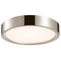 Puck LED 15 inch Polished Nickel Surface Mount Ceiling Light