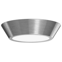 Oculus LED 10 inch Satin Nickel Semi-Flush Ceiling Light