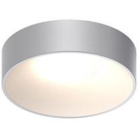 Sonneman 3734.18 Ilios LED 10 inch Dove Gray Surface Mount Ceiling Light