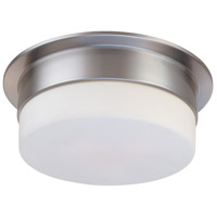 Flange 1 Light 9 inch Satin Nickel Pendant Ceiling Light