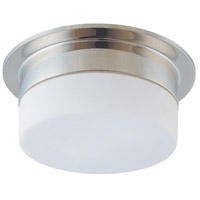 Flange 1 Light 9 inch Polished Nickel Pendant Ceiling Light