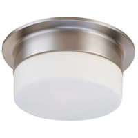 Flange 2 Light 12 inch Satin Nickel Pendant Ceiling Light