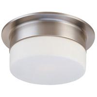Sonneman 3742.13 Flange 2 Light 12 inch Satin Nickel Pendant Ceiling Light