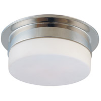 Flange 2 Light 12 inch Polished Nickel Pendant Ceiling Light