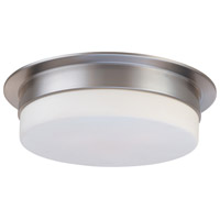 Sonneman Flange 3 Light Pendant in Satin Nickel 3743.13