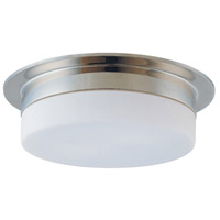 Flange 3 Light 15 inch Polished Nickel Pendant Ceiling Light