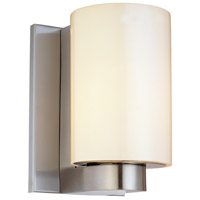 Century 1 Light 5 inch Satin Nickel Sconce Wall Light
